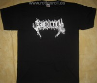 BENEDICTION - Logo - black T-Shirt