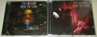 """Bundle THE CREATURES FROM THE TOMB 2 CDs: """"Terryfying Menace"""" + split with TU CARNE"""