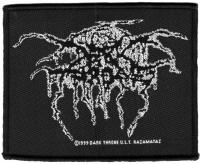 DARKTHRONE - Logo - woven Patch