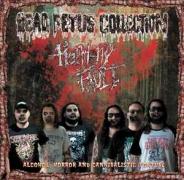 DEAD FETUS COLLECTION / HARMONY FAULT - 7'' split EP -