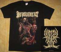 DEVOURMENT - I Watch Them Die - T-Shirt