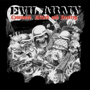 EVIL ARMY - CD - Command, Attack & Destroy