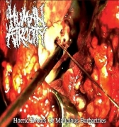 HUMAN ATROCITY - Digipak EP-CD - Horrid Events Of Malicious Barbarities