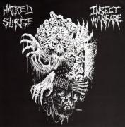 "INSECT WARFARE / HATRED SURGE - split 7"" EP -"