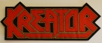 KREATOR - Logo Cut Out - woven Patch