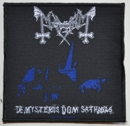 MAYHEM - De Mysteriis Dom Sathanas - woven Patch