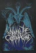 MILKING THE GOATMACHINE - Behegoat - woven Patch