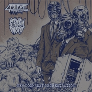 "MINDFUL OF PRIPYAT / STENCH OF PROFIT - split 12"" LP - New Doomsday Orchestration"