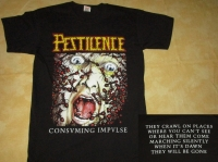 PESTILENCE - Consuming Impulse - T-Shirt size XXL