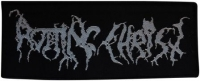 ROTTING CHRIST - Silver Logo - woven Patch