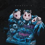 "ROMPEPROP / GUINEAPIG - split 12"" EP (black vinyl)"