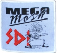 SDI - Mega Mosh Guitar Player -woven Patch