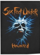 SIX FEET UNDER - Haunted - woven Patch