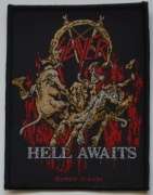 SLAYER - Hell Awaits - woven Patch
