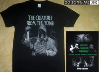 THE CREATURES FROM THE TOMB - Horror Goregrind - T-Shirt Größe L