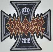 VADER - Iron Times Cut Out - woven Patch
