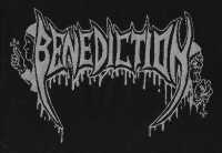 BENEDICTION - Logo - Gewebter Aufnäher