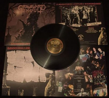 Graveyard Ghoul 12 Lp Slaughtered Defiled Dismembered