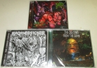 Bundle 3 CDs: KADAVERFICKER + PORNTHEGORE + CREATURES FROM THE TOMB