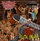 free at 50€+ orders: RECTAL SMEGMA / PUSSY TORPEDO / SIXPOUNDER TERATOMA -split CD-