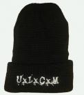 UxLxCxM - Wollmütze - weißes Logo