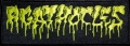 AGATHOCLES  - embroidered yellow logo Patch