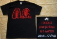ANAL CUNT / AxCx - I Respect Your Feelings - T-Shirt Size XXL