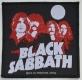 BLACK SABBATH - red-Portraits - woven Patch