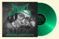 BLOOD - 12'' LP - Mental Conflicts (clear green Vinyl) --- VORBESTELLUNG