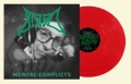 BLOOD - 12'' LP - Mental Conflicts (clear red Vinyl) --- VORBESTELLUNG