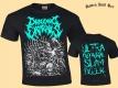 DRAGGING ENTRAILS - Ultra Guttural Slam Dozer - T-Shirt