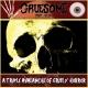GRUESOME STUFF RELISH / NECROCANNIBALISTIC VOMITORIUM - split 7'' EP - (blue Vinyl)