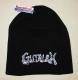 GUTALAX - black Beanie - white Logo