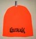 GUTALAX - savty orange Beanie - black Logo