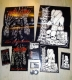 HAEMORRHAGE / DEPRESSION - Tape MC - + 2 pins, magent, Sticker, Miniposter