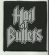 HAIL OF BULLETS - Logo - gewebter Patch