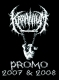 KRAANIUM - Tape MC - Promo 2007 & 2008 Black Cover