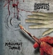 MALIGNANT TUMOUR / SQUASH BOWELS - split 12'' LP - Flesh... In Death (white Vinyl)