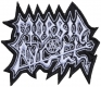 MORBID ANGEL - Cut-Out Logo - embroidered Patch
