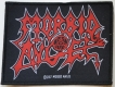 MORBID ANGEL - Logo - woven Patch