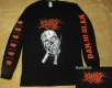 NO ONE GETS OUT ALIVE - Pitchfork Skull - Longsleeve size XXL