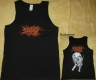 NO ONE GETS OUT ALIVE - Pitchfork Skull - Tank Top