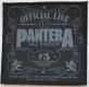 PANTERA - 101 Proof - woven Patch
