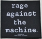 RAGE AGAINST THE MACHINE - Logo - Woven Patch
