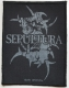 SEPULTURA - Logo - woven Patch
